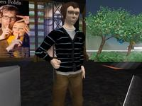 Ben Folds in Second Life