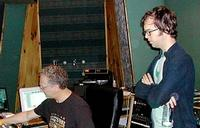 Ben Folds looks over Michael Brauer - the man who mixed 'Silverman', and who is working on a Live in Perth CD and new EPs!