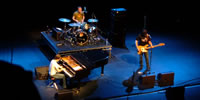 Ben Folds, Lindsay Jamieson and Jared Reynolds play at The Lowry in Manchester, June 11th 2005