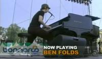 Video of Ben Folds playing 'Gone' at Bonnaroo 2006