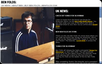 The new Ben Folds Official UK site