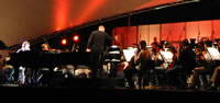 Ben Folds performs with the West Australian Symphony Orchestra
