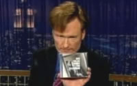 Conan COMPELS you to buy Songs for Silverman
