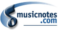 the Musicnotes.com logo
