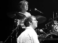 Ben Folds and Sam Smith at the London Hammersmith Apollo in January 2007