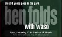 Ben Folds with WASO programme cover